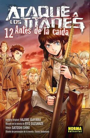 ATAQUE A LOS TITANES: ANTES DE LA CAIDA #12
