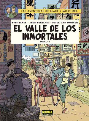 BLAKE Y MORTIMER #25. EL VALLE DE LOS INMORTALES 1