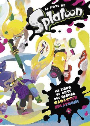 EL ARTE DE SPLATOON. EL LIBRO DE ARTE QUE REBOSA CARACTER SPLATOON!