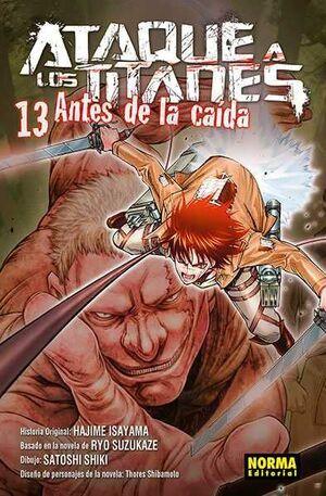 ATAQUE A LOS TITANES: ANTES DE LA CAIDA #13