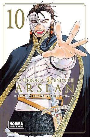 LA HEROICA LEYENDA DE ARSLAN #10