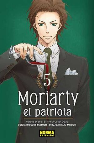 MORIARTY EL PATRIOTA #05
