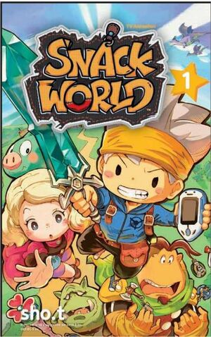 THE SNACK WORLD: TV ANIMATION #01