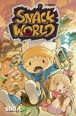 THE SNACK WORLD: TV ANIMATION #02
