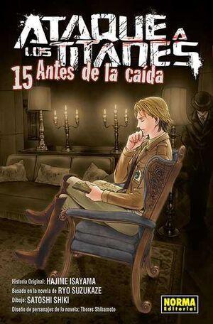 ATAQUE A LOS TITANES: ANTES DE LA CAIDA #15