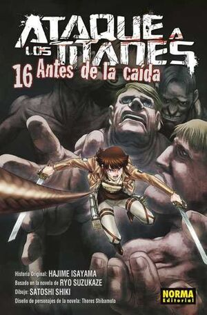 ATAQUE A LOS TITANES: ANTES DE LA CAIDA #16