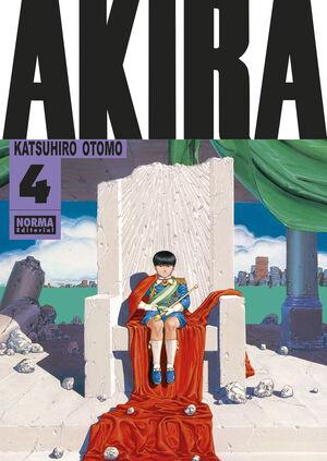 AKIRA #04. EDICION ORIGINAL