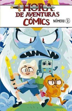 HORA DE AVENTURAS COMICS #02