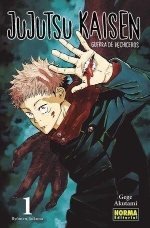 JUJUTSU KAISEN. GUERRA DE HECHICEROS #01
