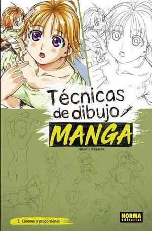 TECNICAS DE DIBUJO MANGA #02. CANONES Y PROPORCIONES