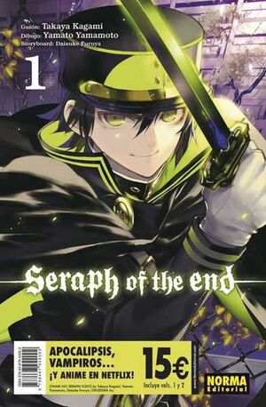 SERAPH OF THE END. PACK INICIACION #01 + #02
