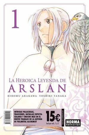 LA HEROICA LEYENDA DE ARSLAN. PACK DE INICIACION