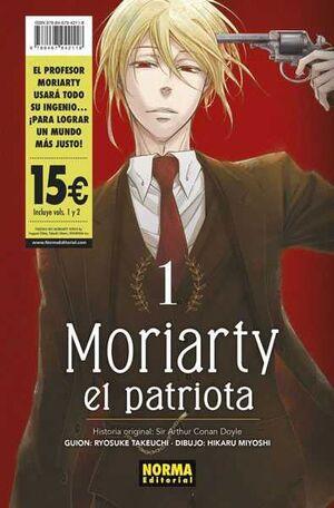 MORIARTY EL PATRIOTA #01 Y #02. PACK DE INICIACION
