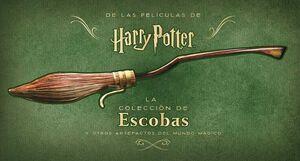 HARRY POTTER: LA COLECCION DE ESCOBAS Y ARTEFACTOS DEL MUNDO MAGICO #01