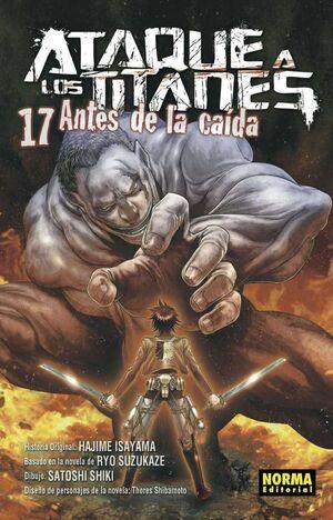 ATAQUE A LOS TITANES: ANTES DE LA CAIDA #17