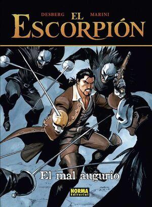 EL ESCORPION #12. EL MAL AUGURIO (CARTONE)