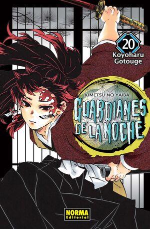 GUARDIANES DE LA NOCHE #20 (MANGA NORMA)