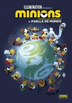 LOS MINIONS #04. PAELLA DE MUNDO