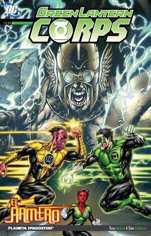 GREEN LANTERN CORPS #11. EL ARMERO