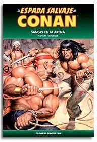 LA ESPADA SALVAJE DE CONAN COLECCIONABLE #057