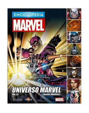 ENCICLOPEDIA MARVEL COLECCIONABLE #108 UNIVERSO MARVEL VOL 33
