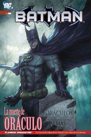 BATMAN: LA MUERTE DE ORACULO