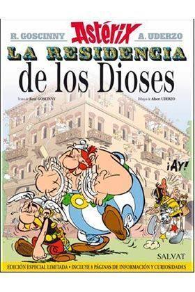 ASTERIX #17 LA RESIDENCIA DE LOS DIOSES
