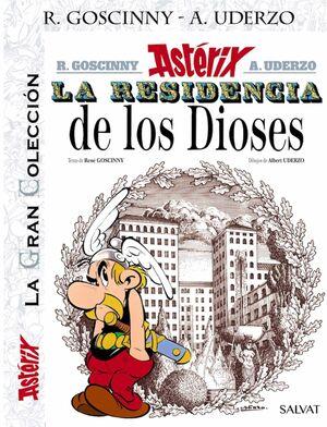 ASTERIX. LA GRAN COLECCION #17: LA RESIDENCIA DE LOS DIOSES