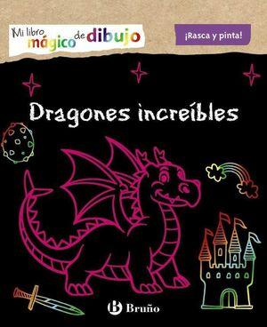 MI LIBRO MAGICO DE DIBUJO. DRAGONES INCREIBLES