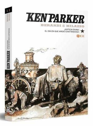 KEN PARKER #11. JUSTICIA DIVINA / EL DIA QUE ARDIO CHATTANOOGA