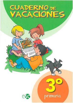 CUADERNO DE VACACIONES 3ºEP