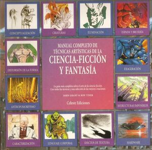 MANUAL COMPLETO DE TECNICAS ARTISTICAS DE LA CIENCIA FICCION Y FANTASIA