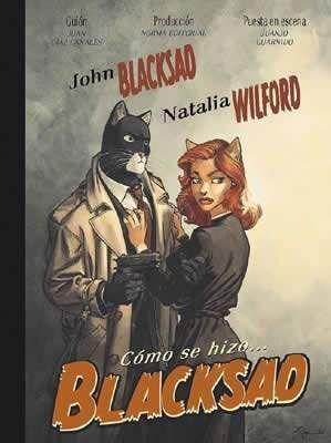 BLACKSAD: COMO SE HIZO BLACKSAD
