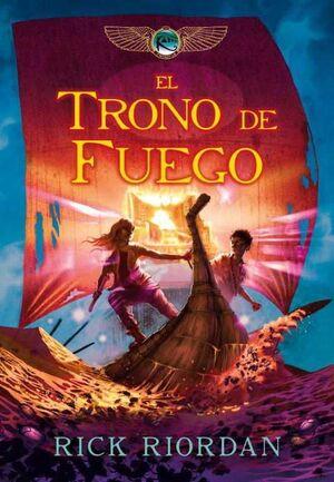 CRONICAS DE KANE II. EL TRONO DE FUEGO