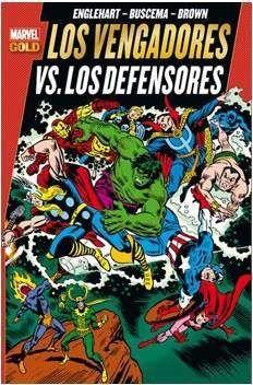 LOS VENGADORES VS LOS DEFENSORES (MARVEL GOLD)