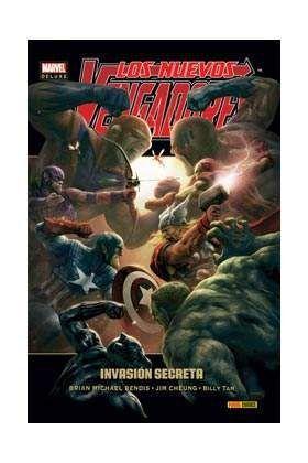 LOS NUEVOS VENGADORES #09: INVASION SECRETA (MARVEL DELUXE)