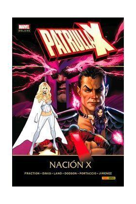 PATRULLA-X: NACION-X (MARVEL DELUXE)