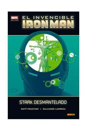 INVENCIBLE IRON MAN # 03 STARK DESMANTELADO (MARVEL DELUXE)