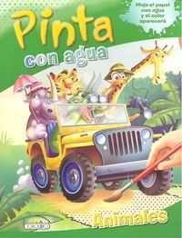 PINTA CON AGUA. ANIMALES