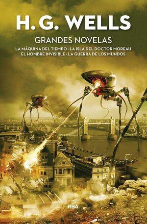 H.G. WELLS: GRANDES NOVELAS
