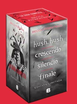 PACK HUSH, HUSH (CONTIENE: HUSH, HUSH; CRESCENDO; SILENCIO; FINALE)