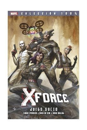 X-FORCE #08. JUEGO SUCIO 100% MARVEL