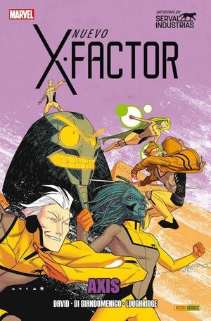 X-FACTOR VOL.2 #10. AXIS