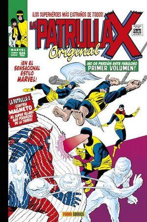 LA PATRULLA-X ORIGINAL #01 (MARVEL GOLD)
