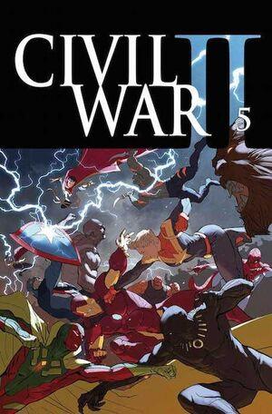 CIVIL WAR II #05