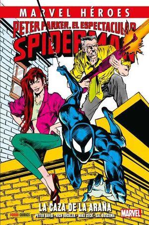 MARVEL HEROES #080: PETER PARKER EL ESPECTACULAR SPIDERMAN. CAZA DE LA ARAÑ