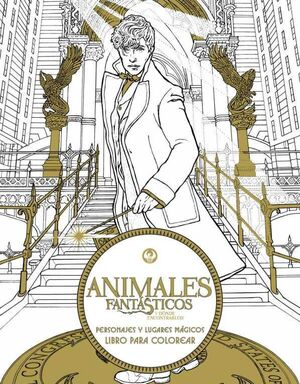 ANIMALES FANTASTICOS Y DONDE ENCONTRARLOS (PARA COLOREAR)