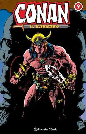 CONAN EL BARBARO. INTEGRAL #009