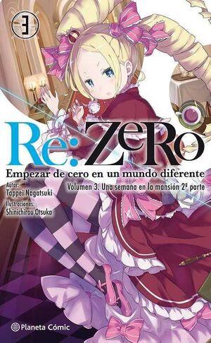 RE:ZERO #03 (NOVELA)