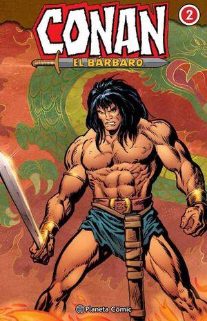 CONAN EL BARBARO. INTEGRAL #002
